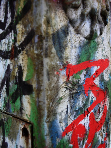 Pentacon 2.8/29 - Graffiti