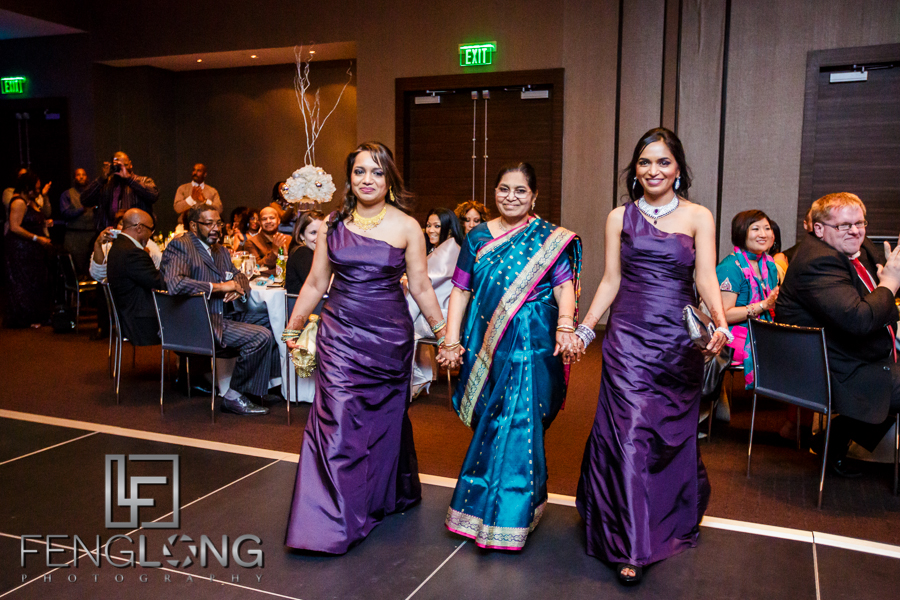 Janella & Chuck's Wedding | Piedmont Church & W Atlanta Downtown | Atlanta Indian Multicultural Wedding Photography
