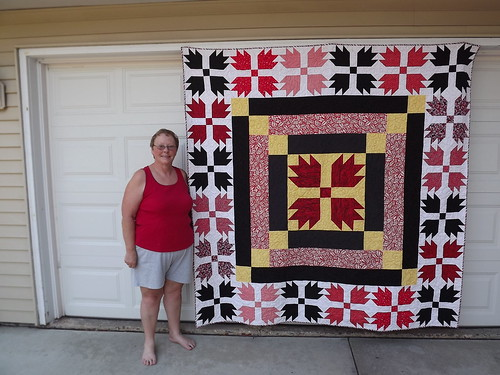 Mom & Martin Hand of Friendship Quilt