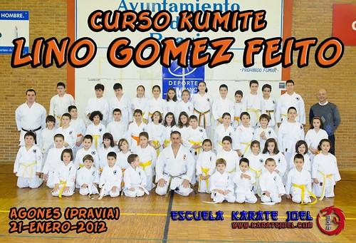 Foto de Grupo del Curso de Karate Lino Gomez Feito