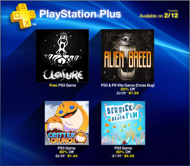 PlayStation Store Update 2-12-2013