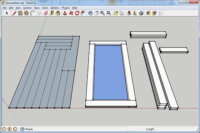 Plywood Door Layout