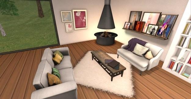 Linden Home Makeover_Living Room