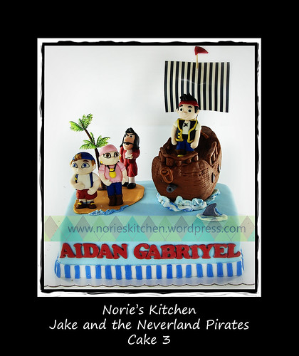 Norie's Kitchen - Jake and the Neverland Pirates Cake 3 by Norie's Kitchen