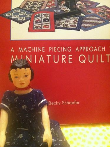 Miniature quilt book