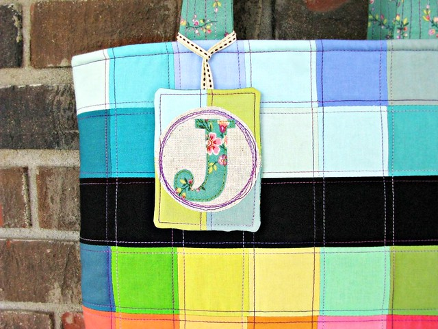 Jacqui's Tote of Many Colors Tag