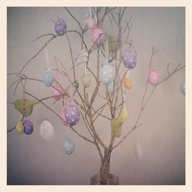 Feeling the Easter spirit. #eastertree