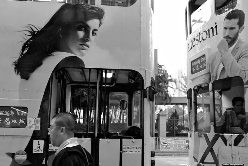 Lust between the trams