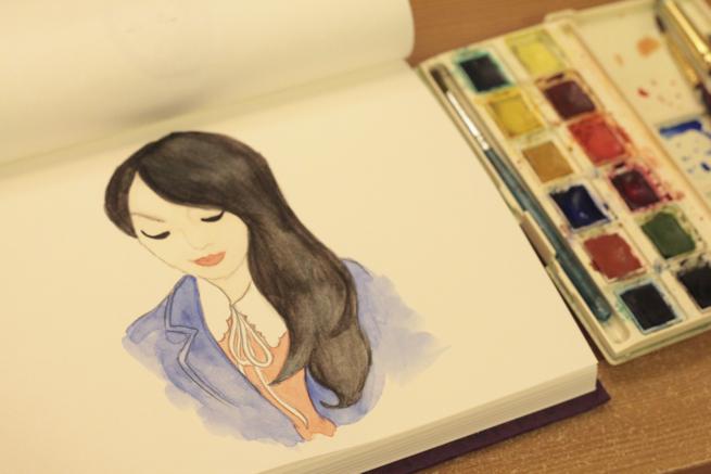 watercolour sketch 1