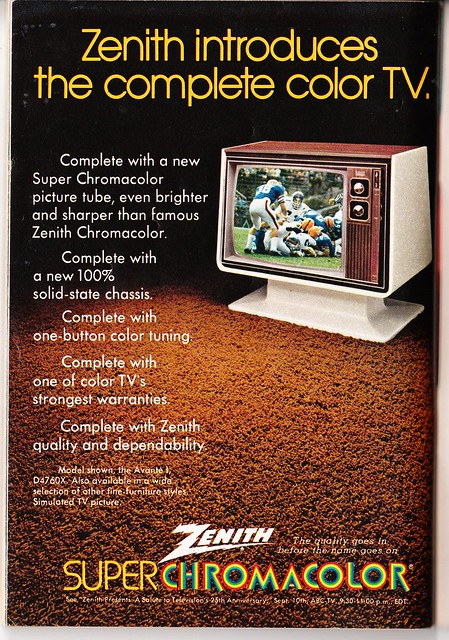 Zenith Chromacolor TV