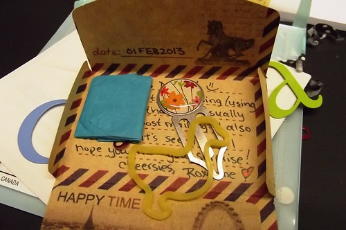 Mail Art: Sender's Choice from Roxanne 7 - Envelope within