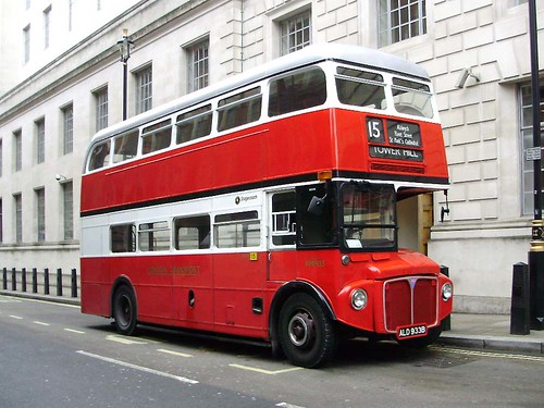 Stagecoach RM1933 - 1964 Leyland AEC Routemaster ALD933B