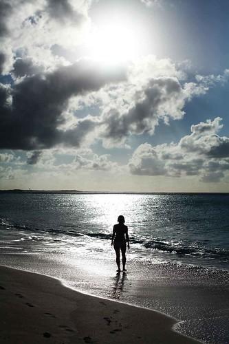 Elaine at Leeward Beach IV
