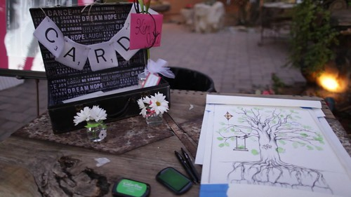 Card and Guestbook Table