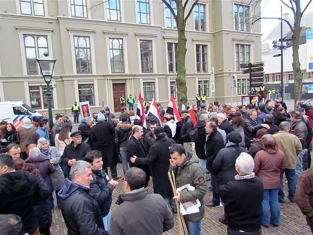 Protest tegen Erdohan.
