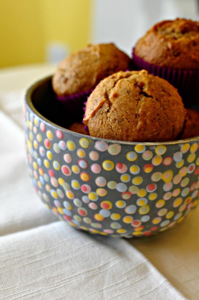 Banana Biscoff Muffins 4
