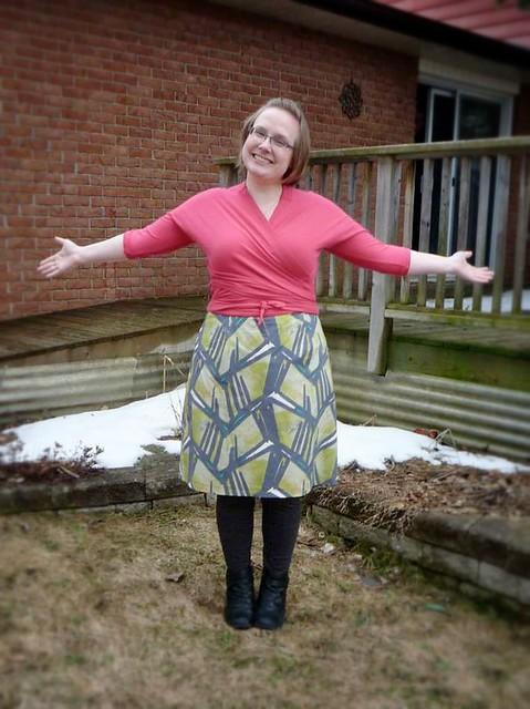 Pavlova top and a Truffle skirt