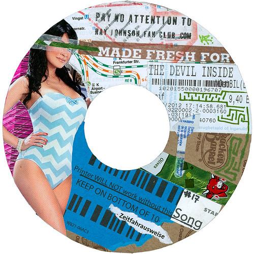 Ray Johnson Fan Club sticker #17
