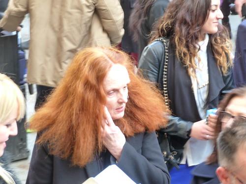 Grace Coddington Prais Fashion Week Paris