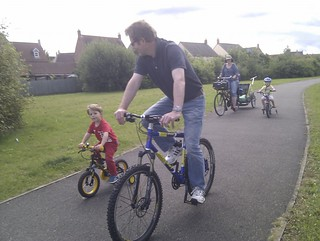 Alex's dad, Chris showing his son how it's done ;)