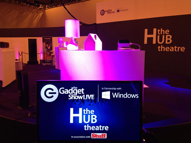 Good Night Lamp at the Gadget Show 2013!