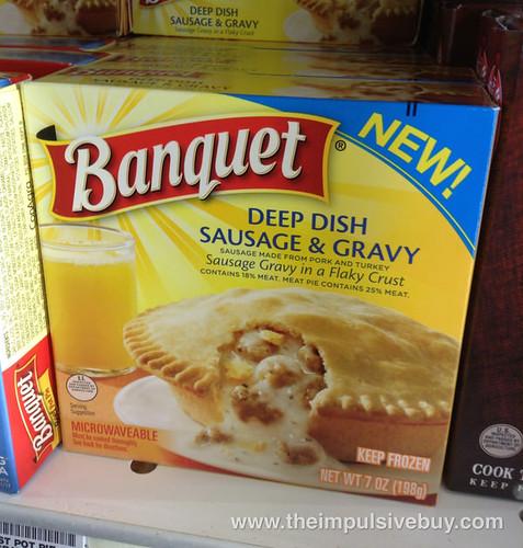 Banquet Deep Dish Sausage & Gravy