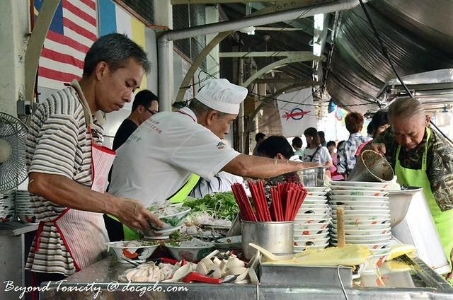 penang assam laksa @ pasar air itam