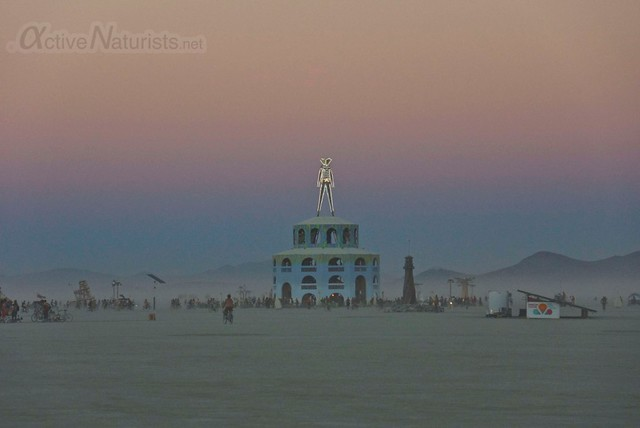 naturist 0109 Burning Man 2012, Black Rock City, NV, USA