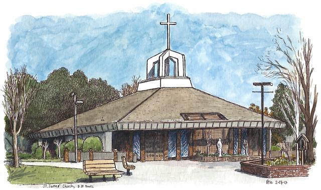 st james church, davis
