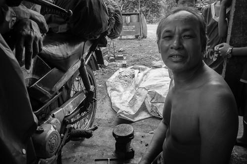 A legless mechanic