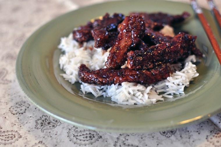 Mongolian Beef 1