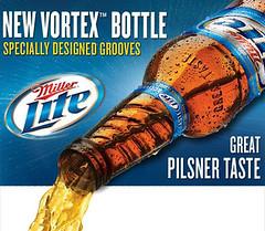 Miller Lite Vortex Bottle