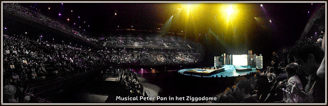 Musical PeterPan in Ziggodome (16-02-2013).