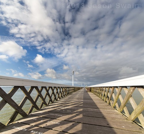 Yarmouth Pier - Vanishing point