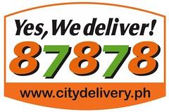 City Delivery Logo ORANGE
