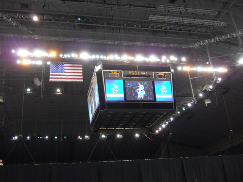 Up in the rafters