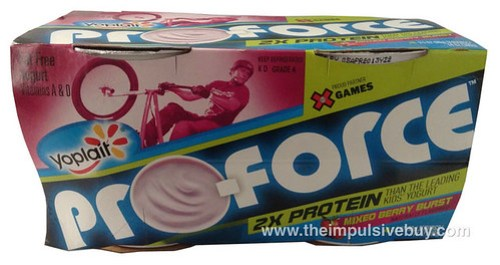 Yoplait Pro-Force Mixed Berry Burst