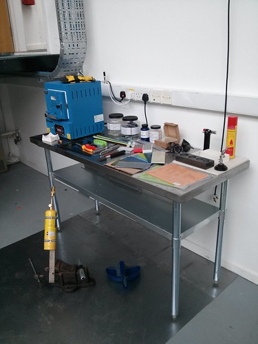 Glass kiln and other glasswork equipment