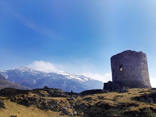 The Castle Keep, Dolbadarn Castle Ruins, Llanberis