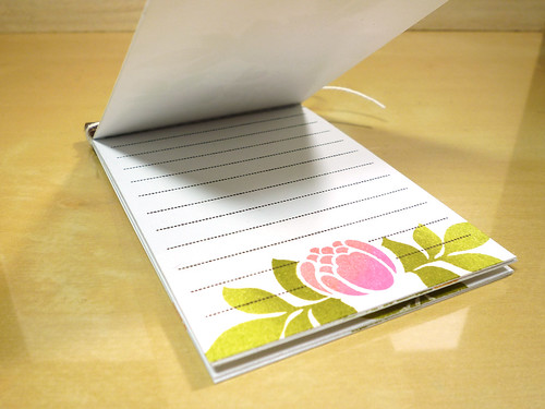 Monogram Note Book - Pages