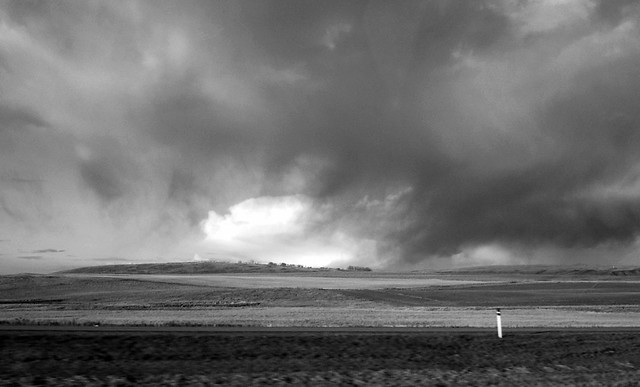Alberta prairie sky