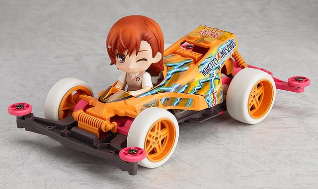 Nendoroid Petite x Mini 4WD: Mikoto Misaka drives Thunder Shot Special