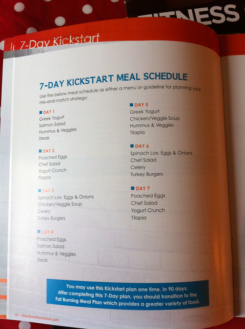 Kickstart menu