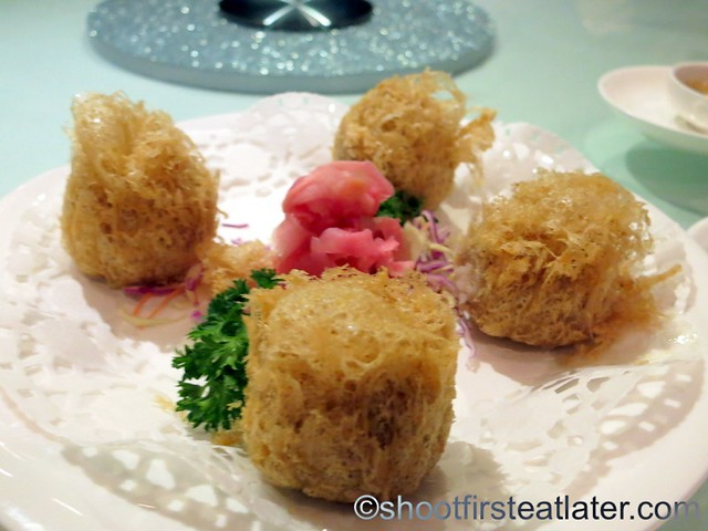fried taro puff
