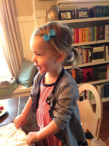 ponytail girl by telfandrea