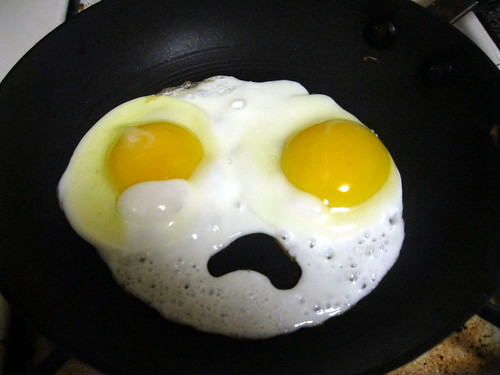 Not So Sunny Side Up... (aka Sad Eggs) by psgreen01