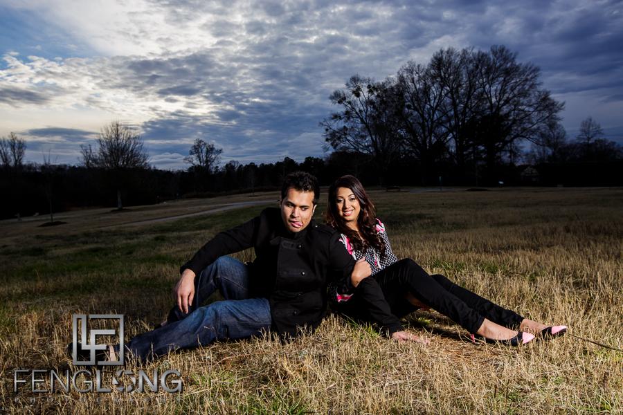 Kanwal & Ali's Engagement Part 2 | Park & Body Painting | Atlanta Indian Engagement Photography