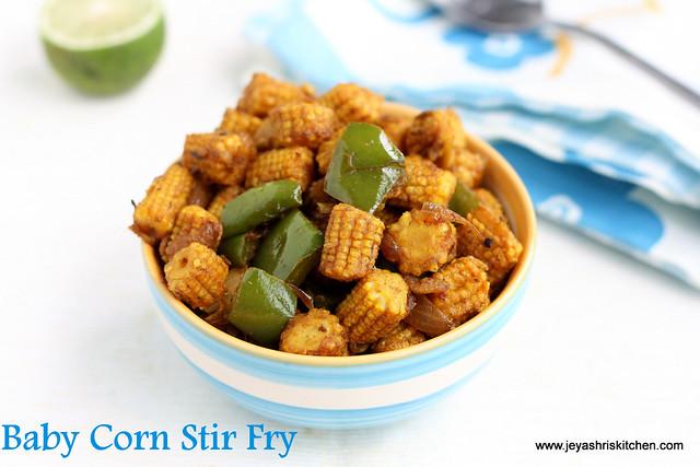 Baby corn stir fry 3