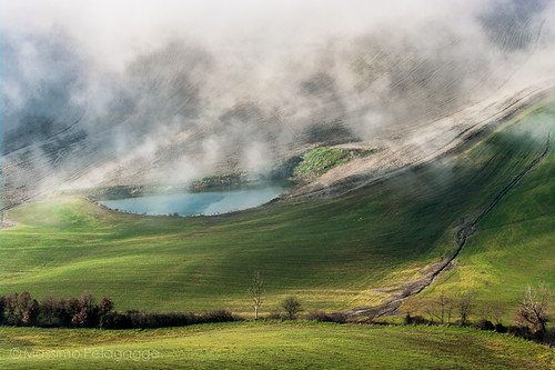 Val D'Orcia by Massimo Pelagagge
