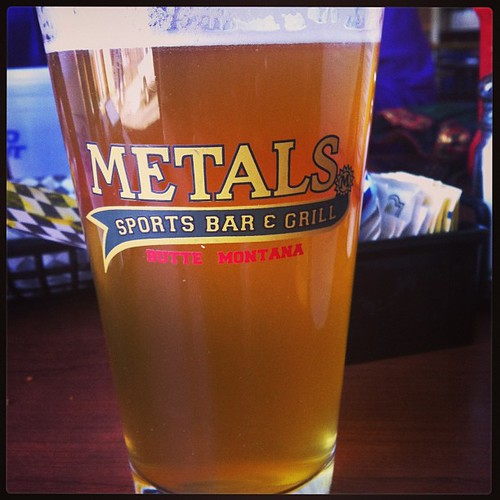 I love me a cold draft Belgian white. #butte #butteamerica #beer #metalssportsbar